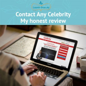 Contact any celebrity - my honest review