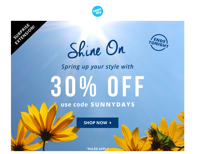 Email Marketing Examples for Your Online Store OpenSky