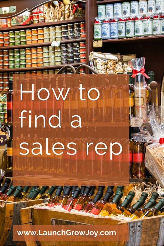 How to find a sales rep for your product business - Launch