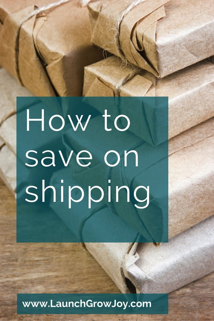 How to save on shipping charges