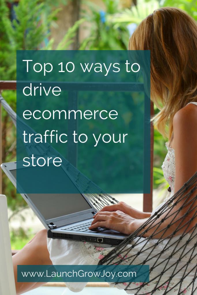 Increase ecommerce traffic