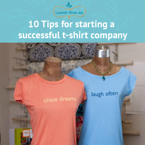 3e91f5514 Starting a tshirt company - 10 easy steps and FREE ebook!