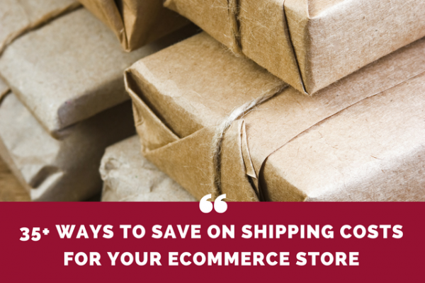 35+ ways to save on shipping costs