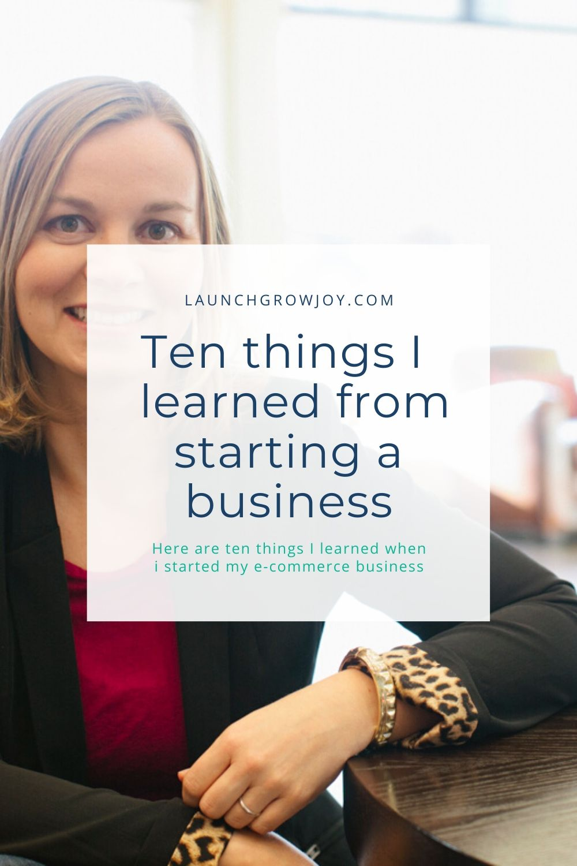 start a business