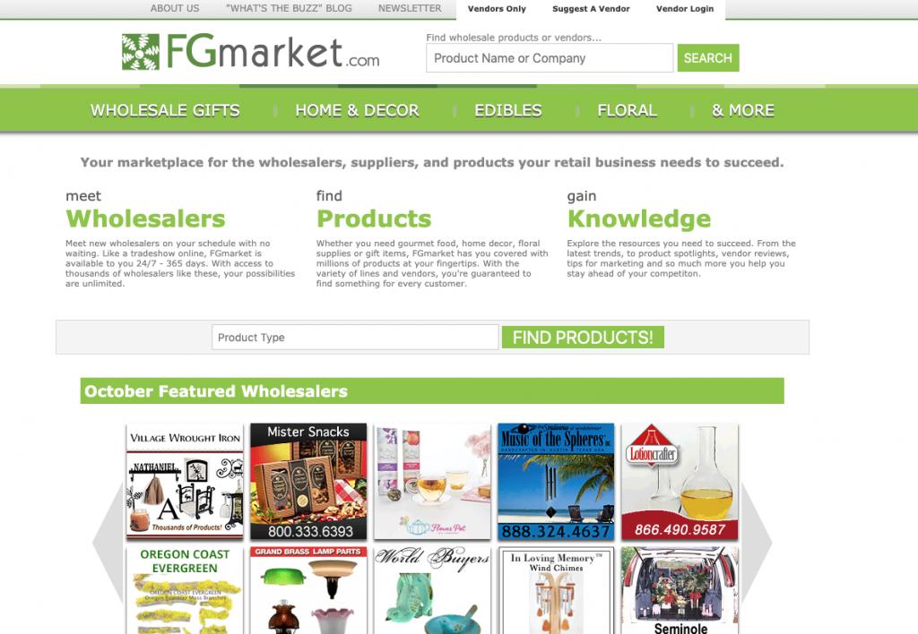 FG Market - wholesale marketplace