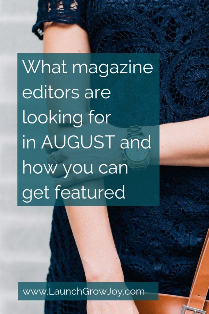 Fashion PR - Magazines