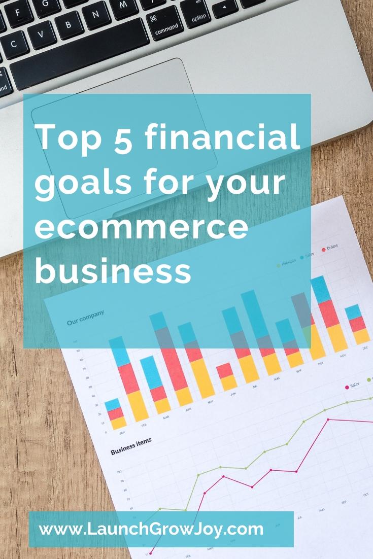 Financial goals ecommerce