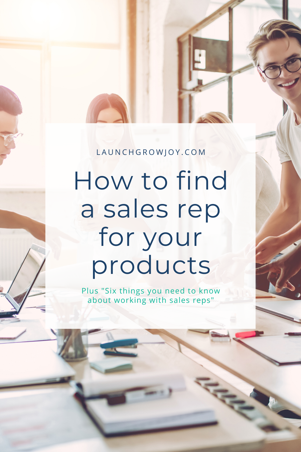 Finding a sales rep