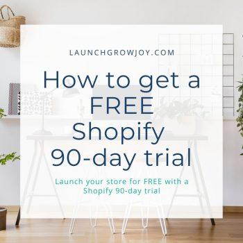 Free shopify trial