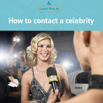 How to contact a celebrity