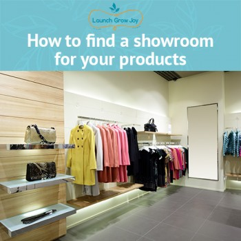 How to find a showroom for your products
