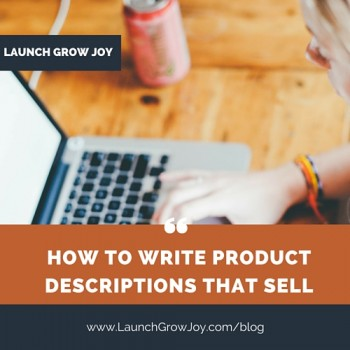 How to write a product description that sells