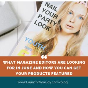Magazine PR