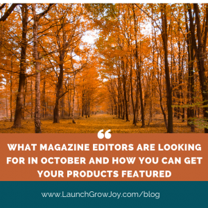 Magazine PR october