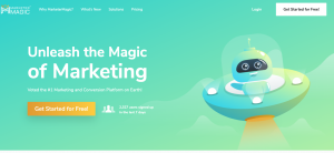 Marketer magic find leads