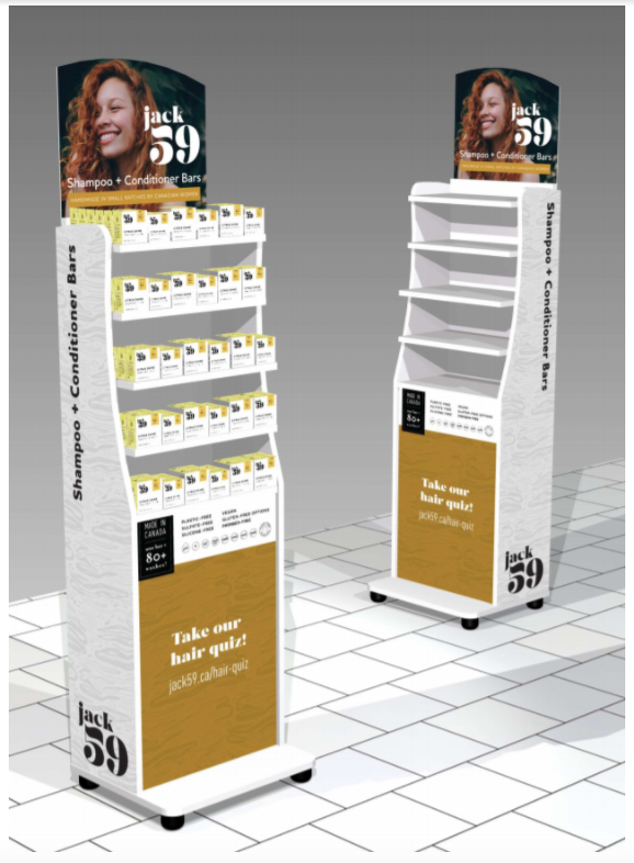 Retail packaging example