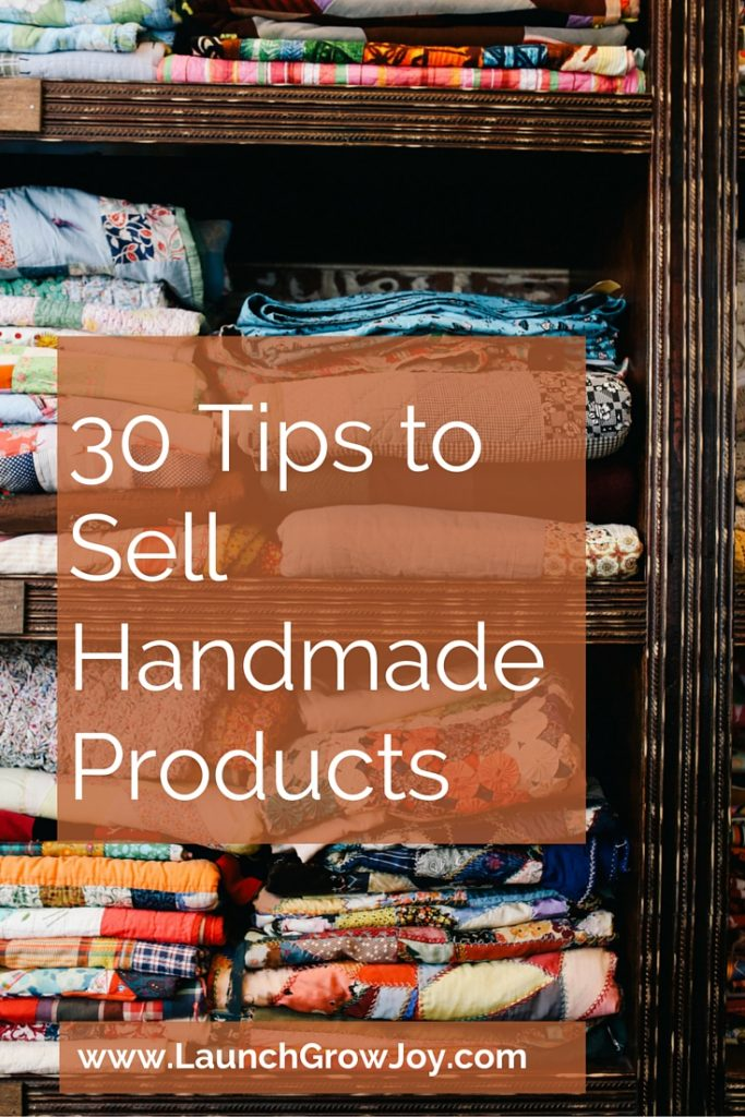 sell on handmade sell handmade 30 tips to sell your handmade products 8735