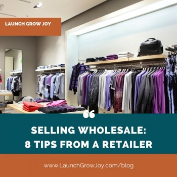 Selling wholesale - eight tips from a retailer