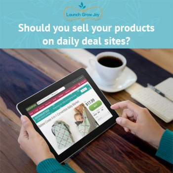 Should you sell your products on daily deal sites