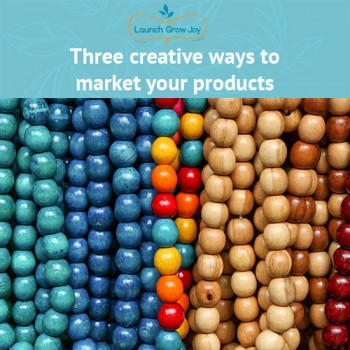 market your products