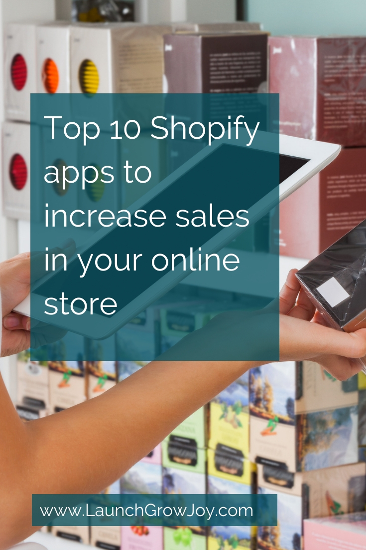 Top 10 Shopify apps to increase your online sales