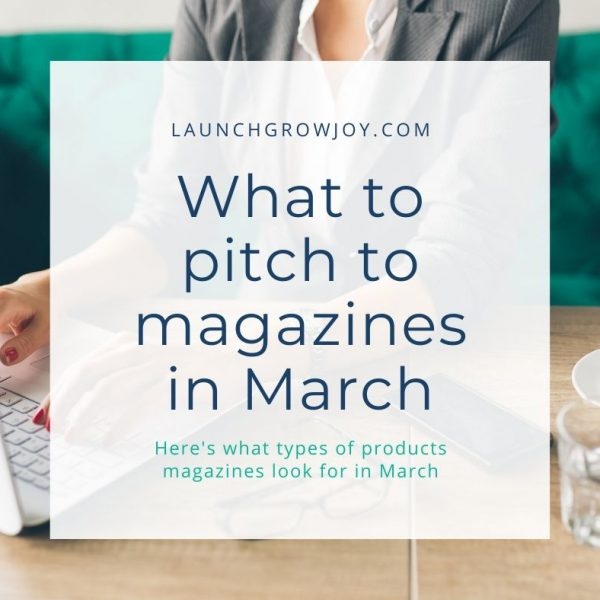 What to pitch in march