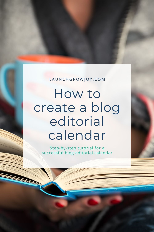 blod editorial calendar