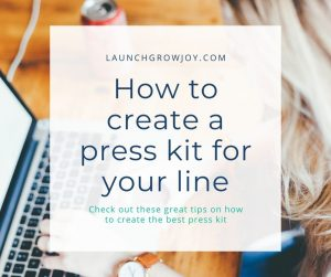 create a press kit