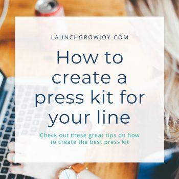 create a press kit