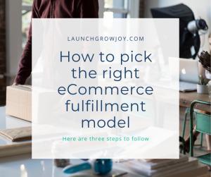 ecommerce fulfillment