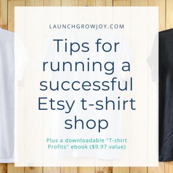 etsy tshirt shop