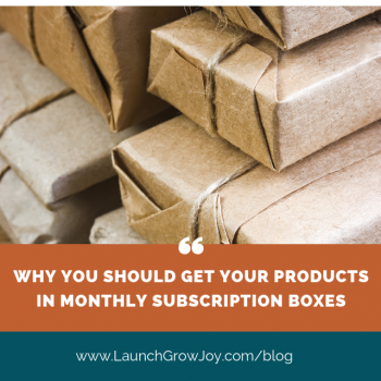 get in monthly subscription boxes