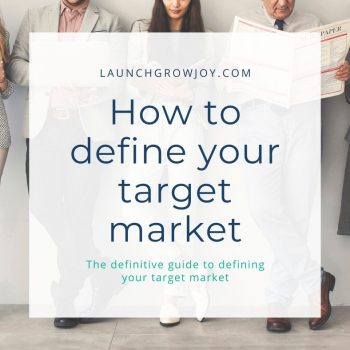 how to define target market