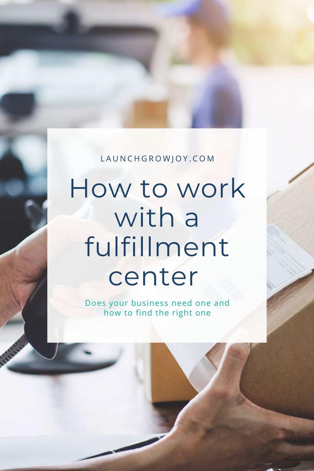how to find a fulfillment center