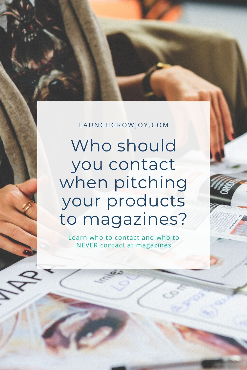 how to pitch magazines