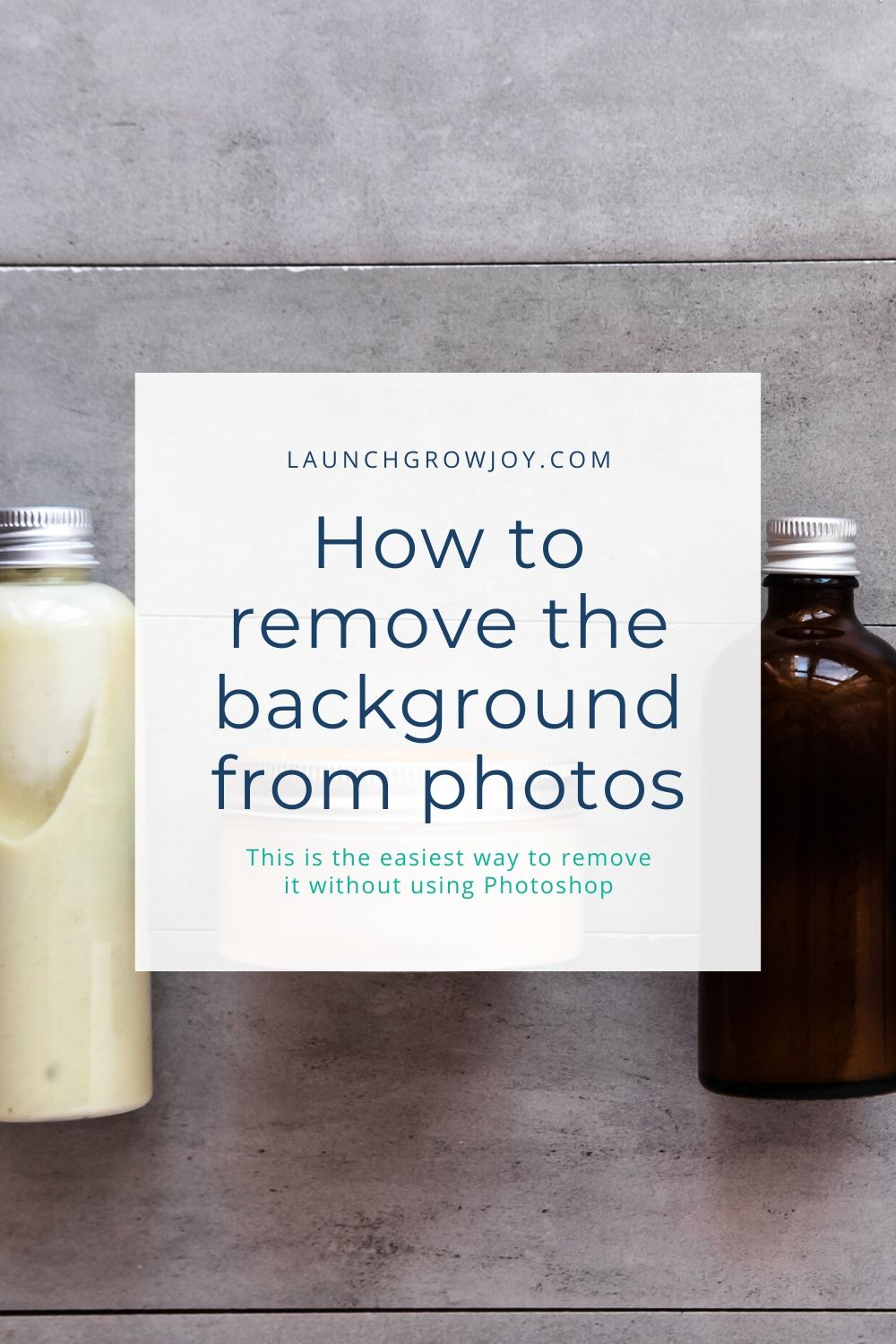 how to remove background from pictures