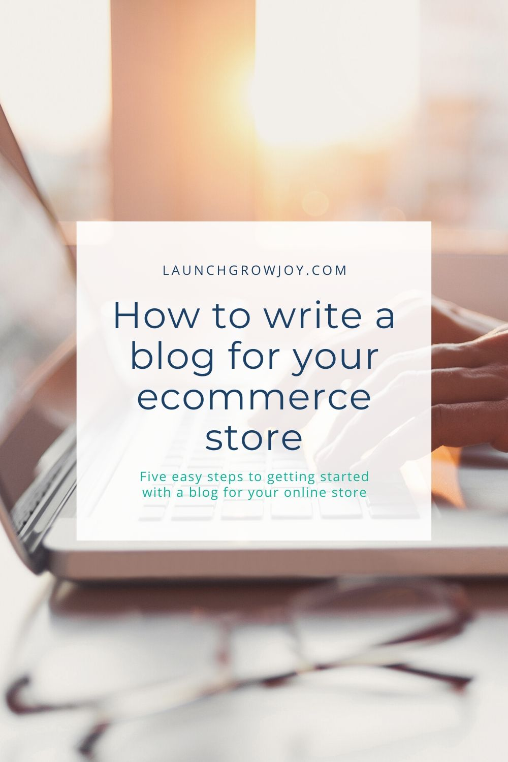 how to write a blog for ecommerce