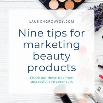 marketing beauty products