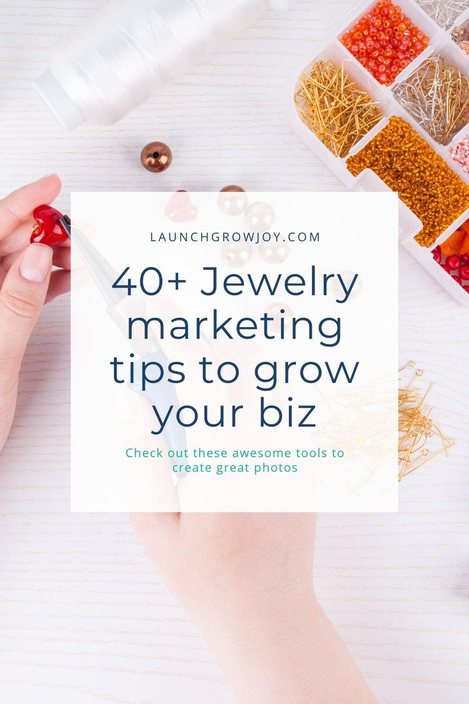 sell jewelry marketing