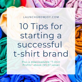 start a tshirt brand