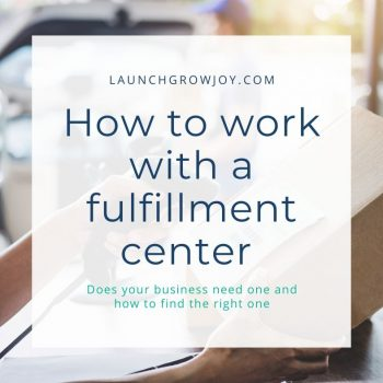what is a fulfillment center