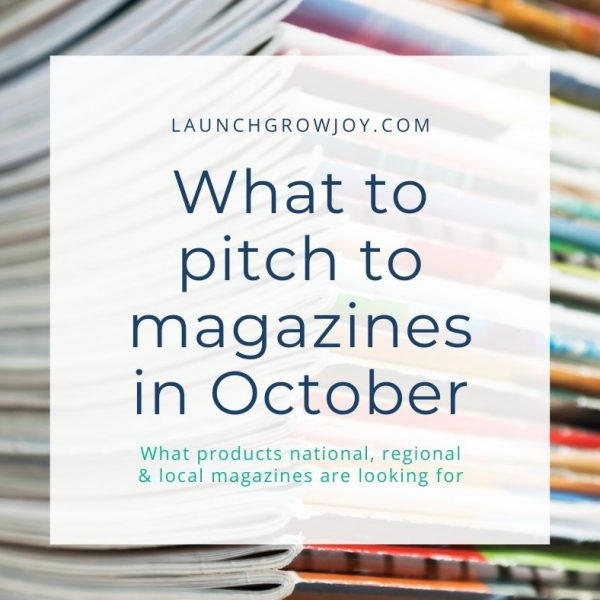 what to pitch in october