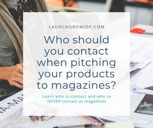 who to contact at magazine